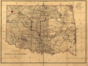 Indian Territory Map