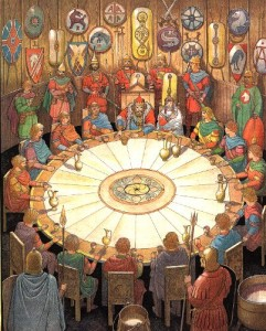 Knights-at-the-Round-Table