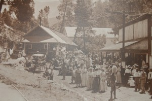 California Hot Springs at the turn of the Century