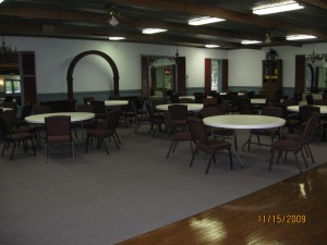 Inside the Conference Center