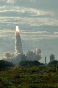 GPS Satellite launch Oct 2007  from LC-17A