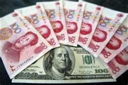 U.S. Treasury slams China, wants the dollar to fall against the yuan.