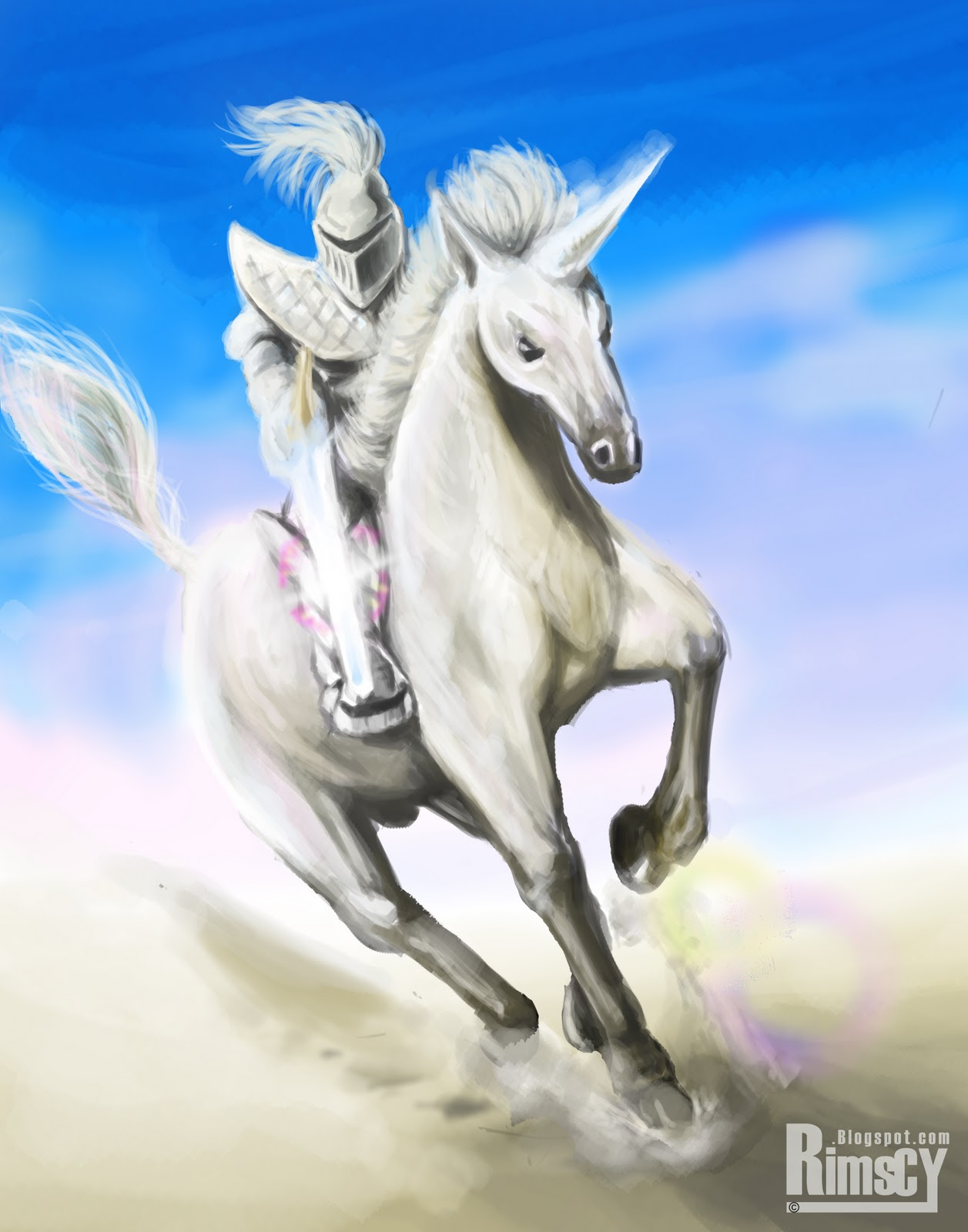 White Knights – the Cavalry is Coming