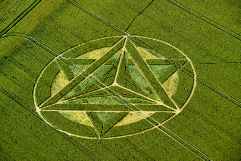 Some Postings on New Crop Circle