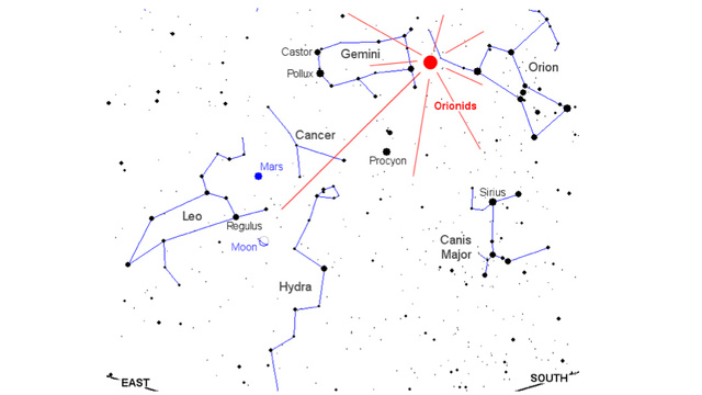 Orionid Meteor Shower This Weekend, What You Need To Know