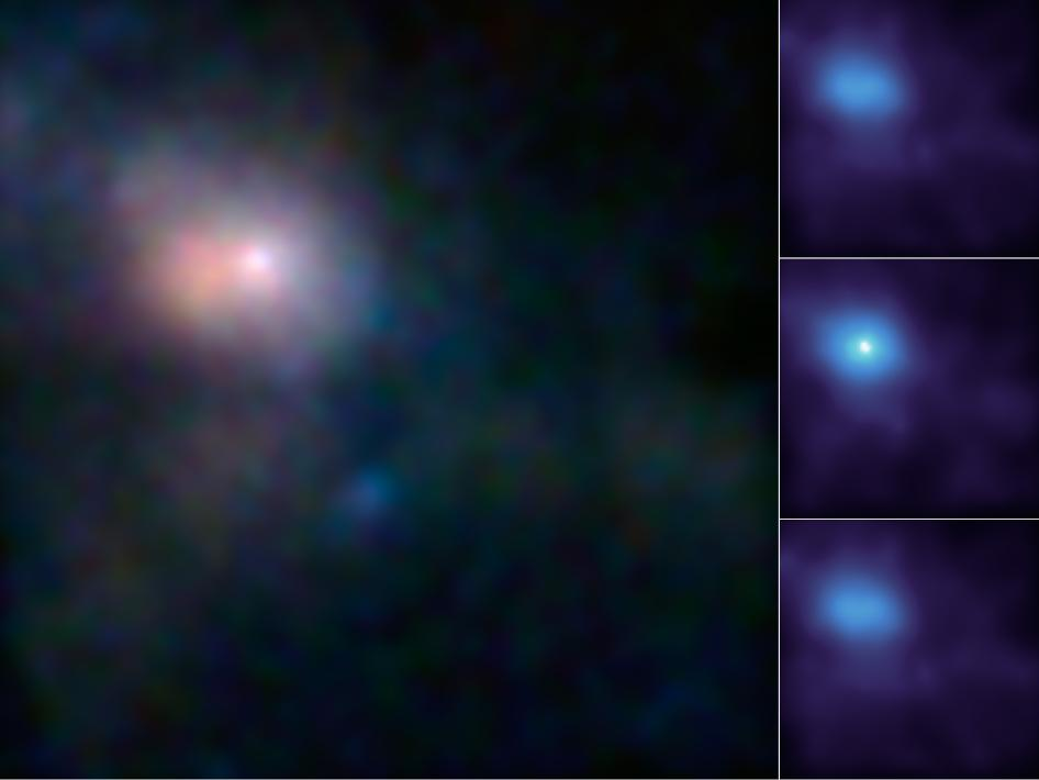 First Look at Milky Way's Monster in High-Energy X-ray Light