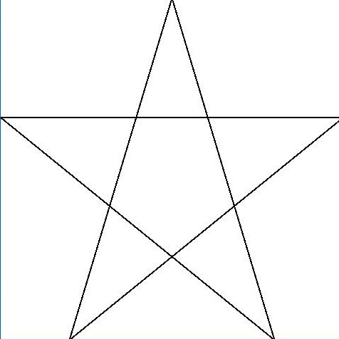 You Just Have to See This….5 point star alien message…