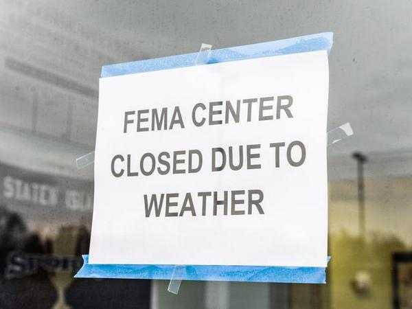 FEMA Disaster Centers Shut Down 'Due To Bad Weather'