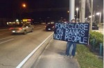 Foreclosed Homeowners 'Move In' to the Dept. of Justice