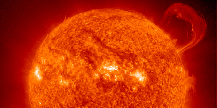 One of the biggest sunspot groups of the current solar cycle has emerged in the sun's southern hemisphere