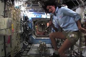 Departing Space Station Commander Provides Tour of Orbital Laboratory