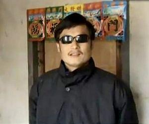 Blind activist urges no compromise on changing China