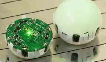 SWARM ROBOTS CALLED 'DROPLETS' THE SIZE OF A GOLF BALL