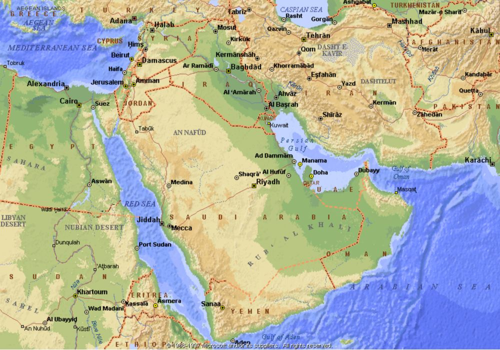 NASA Satellite Data Find Freshwater Losses in Middle East