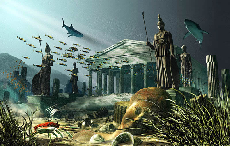 A Compilation of Articles and Information on Atlantis, Sphinxes and the Bermuda Triangle