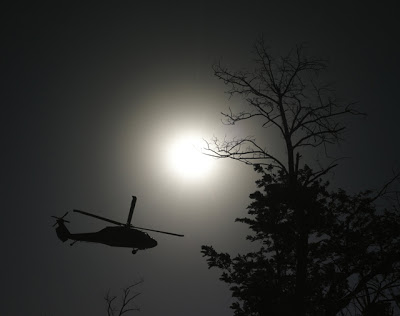 Black Helicopter Escorts Or Chases Triangle UFO, Rhode Island