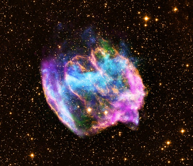 Cosmic rays come from exploding stars