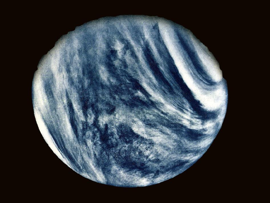 NASA's Image of the Day Gallery – Seeing Venus Like You Never have Before!
