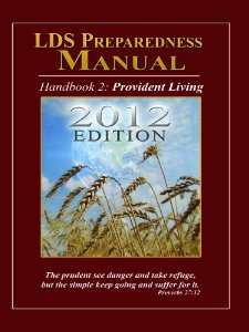 LDS Preparedness Manual 2012 Edition
