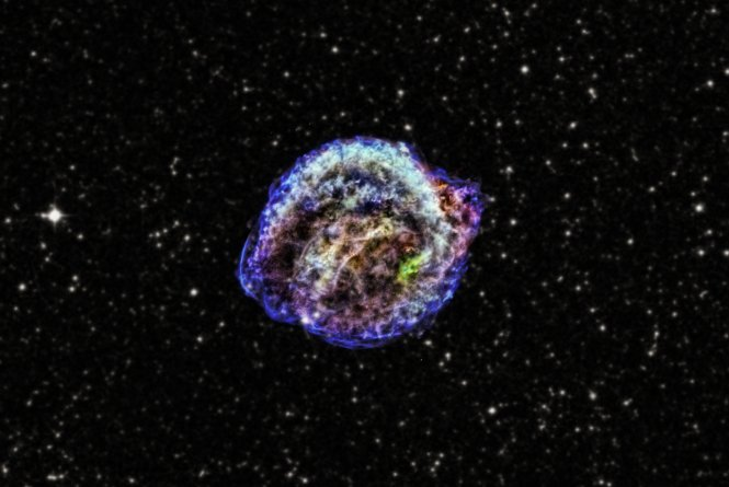 Kepler Supernova Remnant – Beautiful!!!