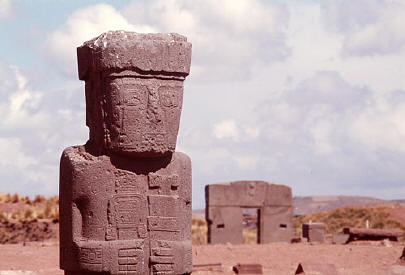 Ancient City of Tiwanaku, Bolivia