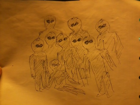 Woman Surrounded By 15 Grey Aliens – MUFON Report