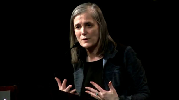 Amy Goodman: Corporate media is 'an extreme media beating the drums for war'