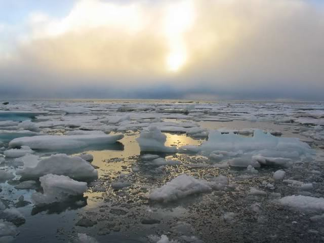 Arctic ice key to jet stream pattern changes