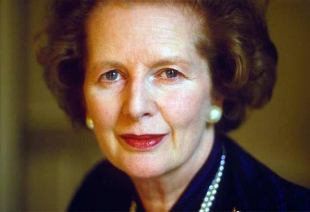 RT: Margaret Thatcher dies