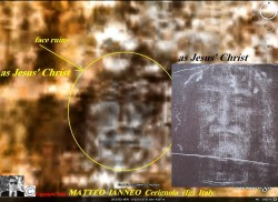 Shroud Of Turin Face Of Jesus On Mars