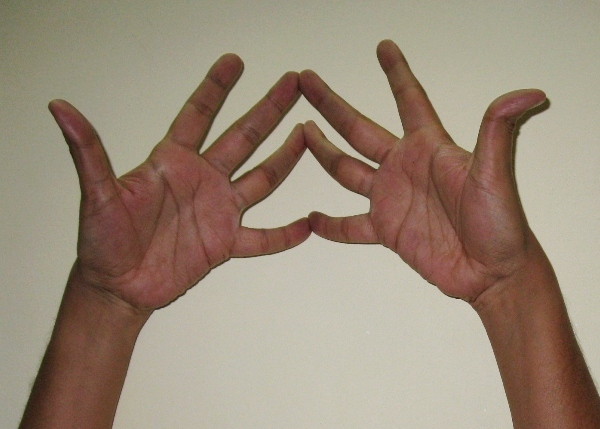 Ancient Hand Gesture (Mudra) for Improving Concentration and Activating Self-Healing