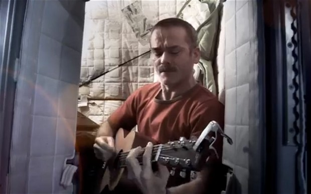 Commander Chris Hadfield's Rendition of David Bowie's Space Oddity – Very Cool!