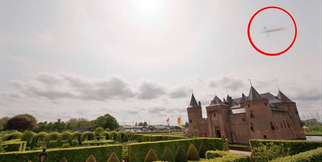 UFO Photographed Over Castle in Netherlands
