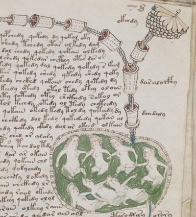 New signs of language surface in mystery Voynich text