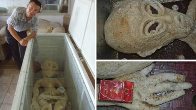 Man in China Claims to Have Electrocuted An Alien! Photos