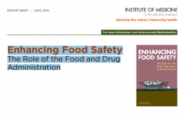 500 Page Report: FDA Failing to Keep Food Safe, Protect Consumers