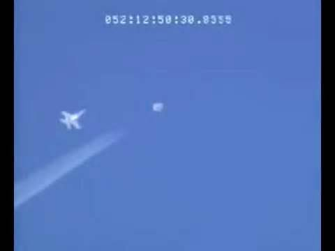 Fighter Jet Chasing a UFO?