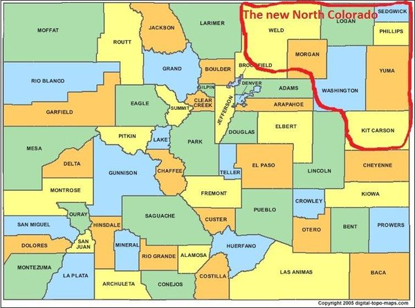 Eight Colorado Counties Want To Leave The State, Form Own State (Video)