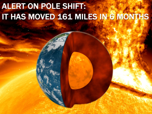 ALERT ON POLE SHIFT: IT HAS MOVED 161 MILES IN 6 MONTHS