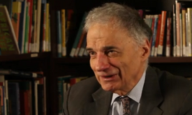 Nader Describes Clinton as 'Poster Child for Military-Industrial Complex'