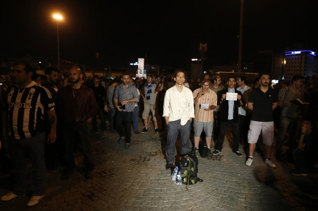 Turkey's 'standing man' launches new protest wave