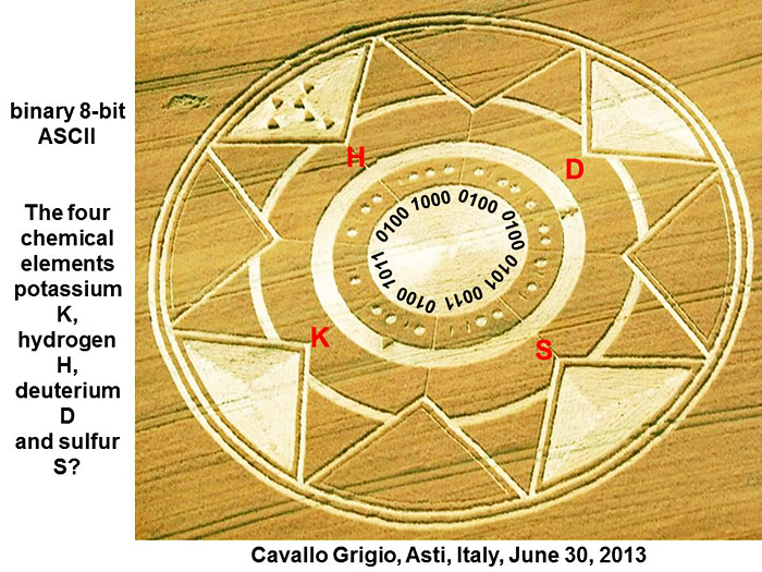 Huge new crop circle in Italy encoded with scientific formulas