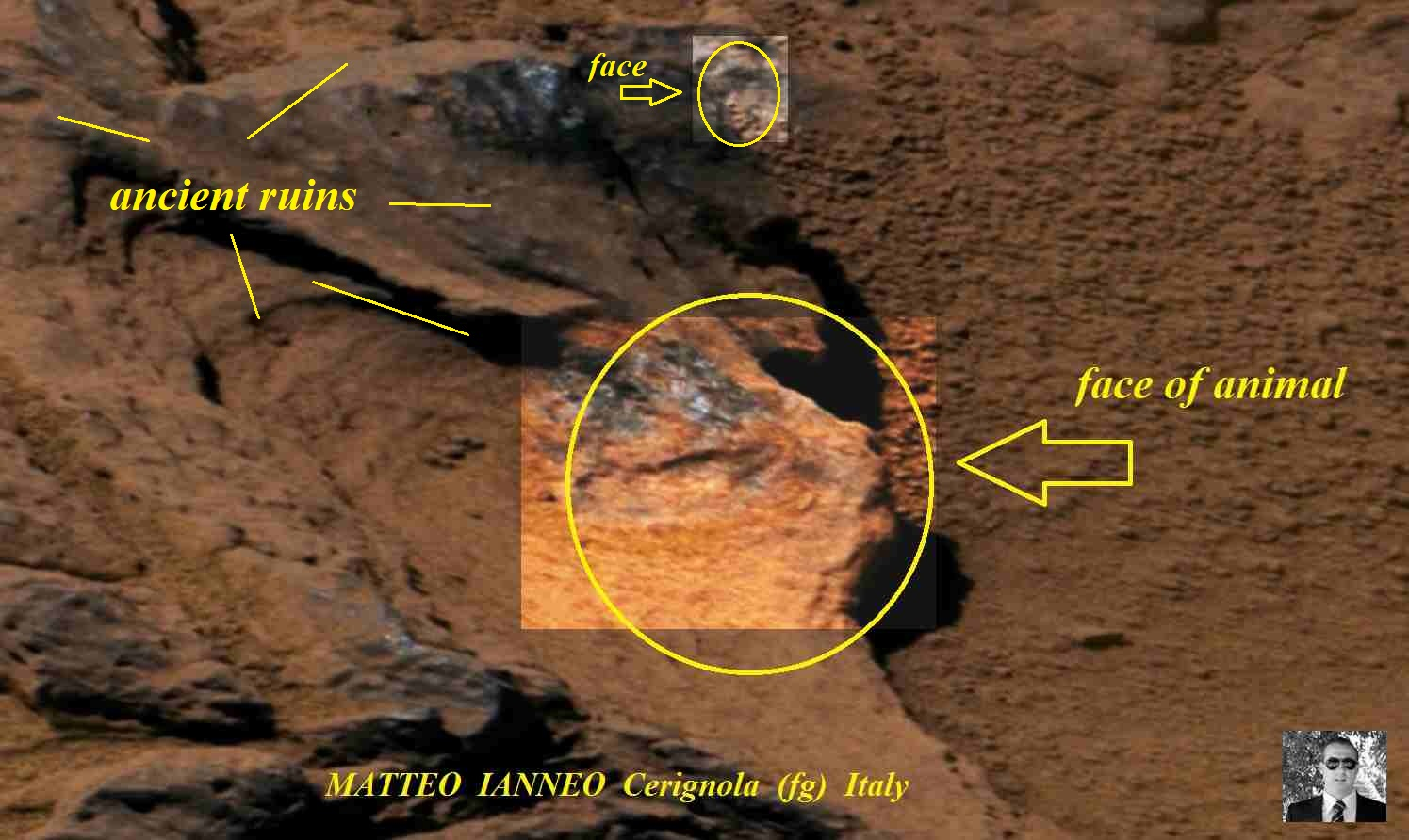 New Discoveries on Mars From My Friend Matteo Ianneo