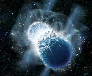 Earth's Gold Came from Colliding Dead Stars