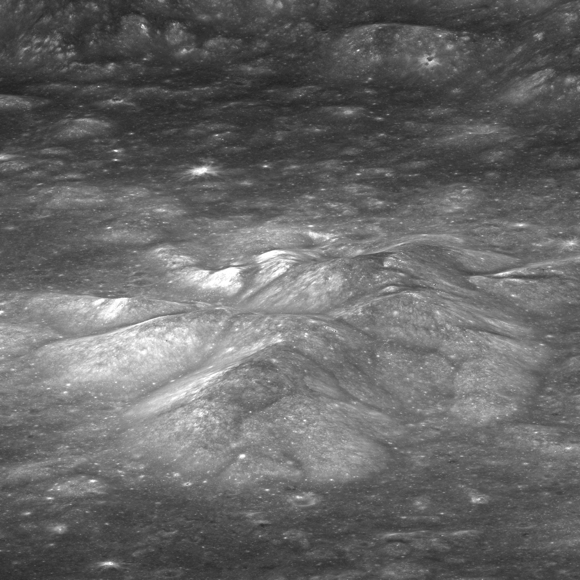 Scientists detect magmatic water on moon's surface