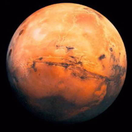 Mars. The Red Planet. NOT
