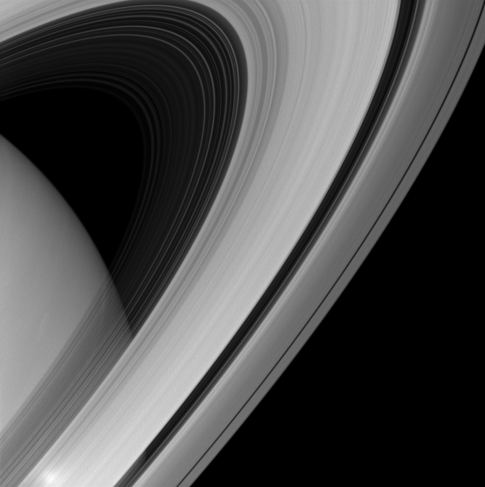 Arc Across the Planet Saturn