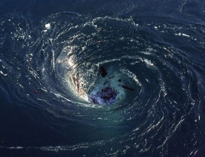 """You Gotta See This!!! Satellites glimpse ultra-powerful """"black hole"""" whirlpools in Atlantic"""
