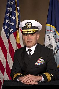Rear Admiral Charles Gaouette