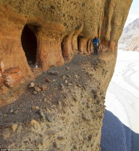 ancient nepal caves